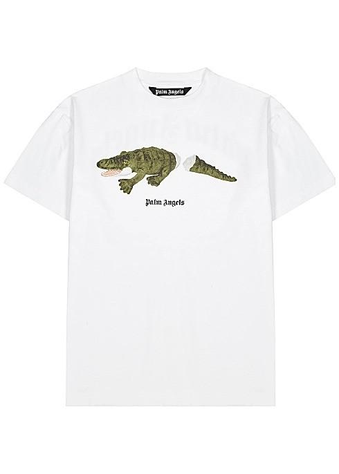短尾鳄鱼T恤
