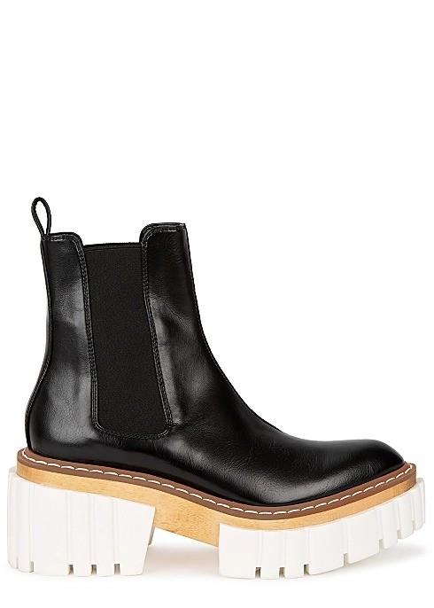 Emilie 75 厚底切尔西靴