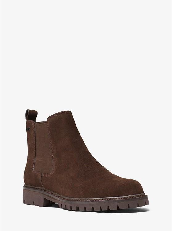 Hudson 麂皮切尔西靴