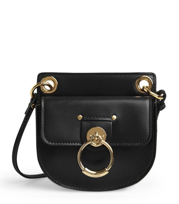 Small Leather Tess Pouch Bag