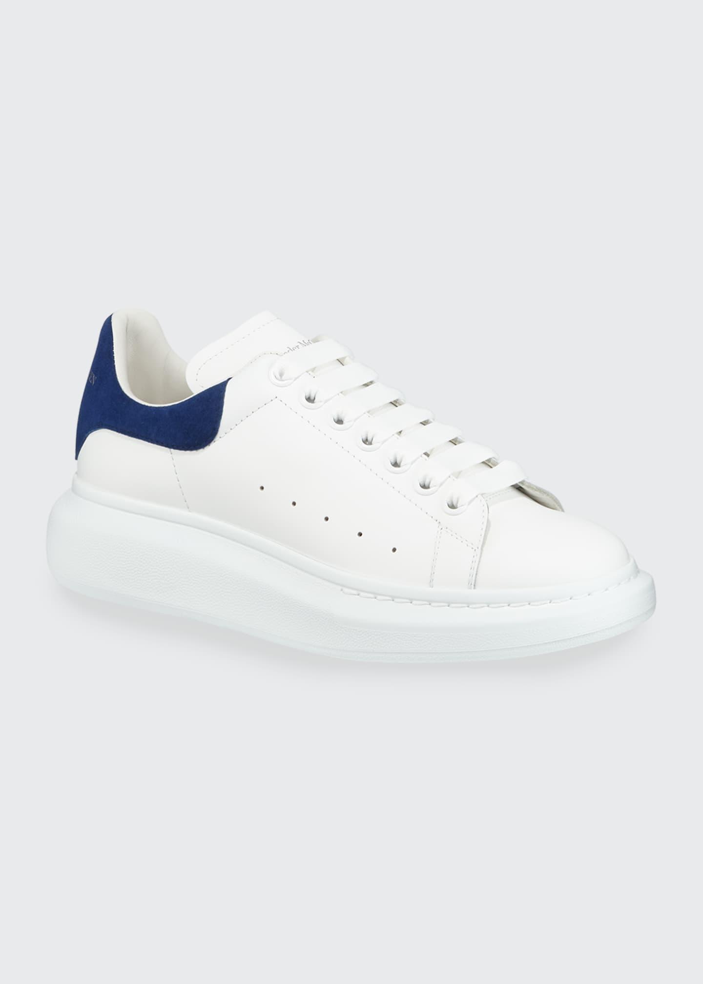麦昆蓝尾小白鞋
