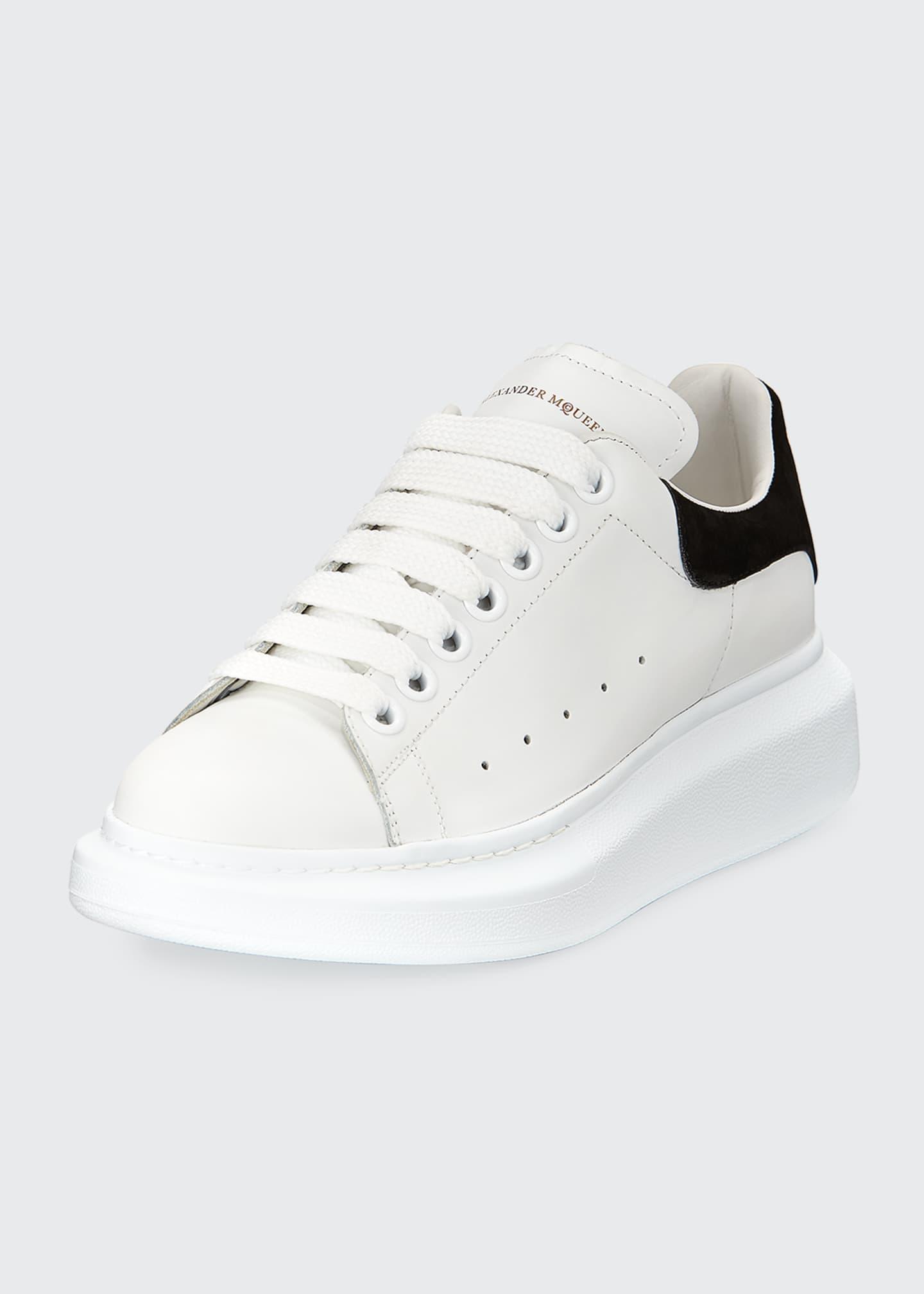 麦昆黑尾小白鞋