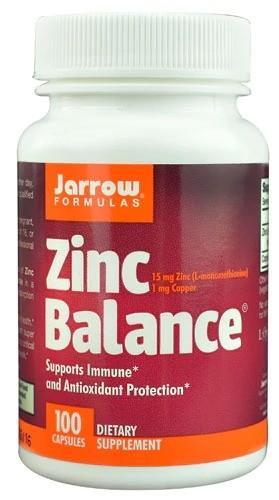 Zinc Balance 15mg锌1mg铜 100粒
