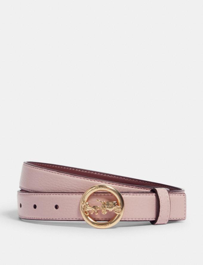 粉色马车扣腰带