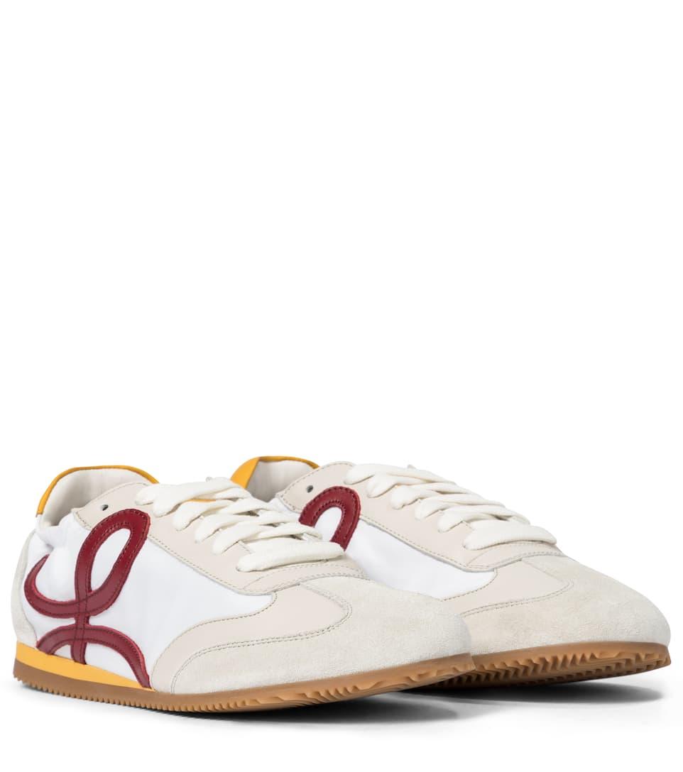 LOEWE 皮革运动鞋