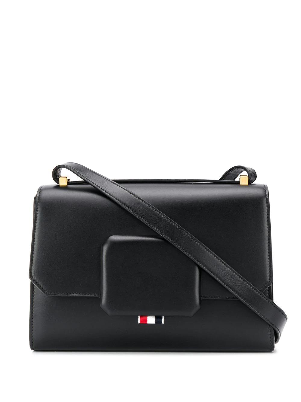 包带盒形手提包