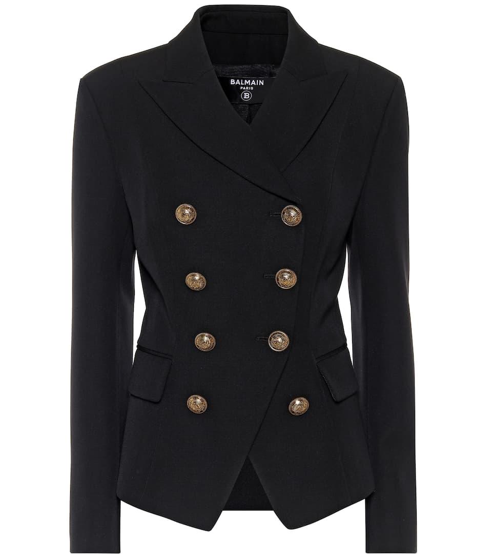 BALMAIN 羊毛西装式外套