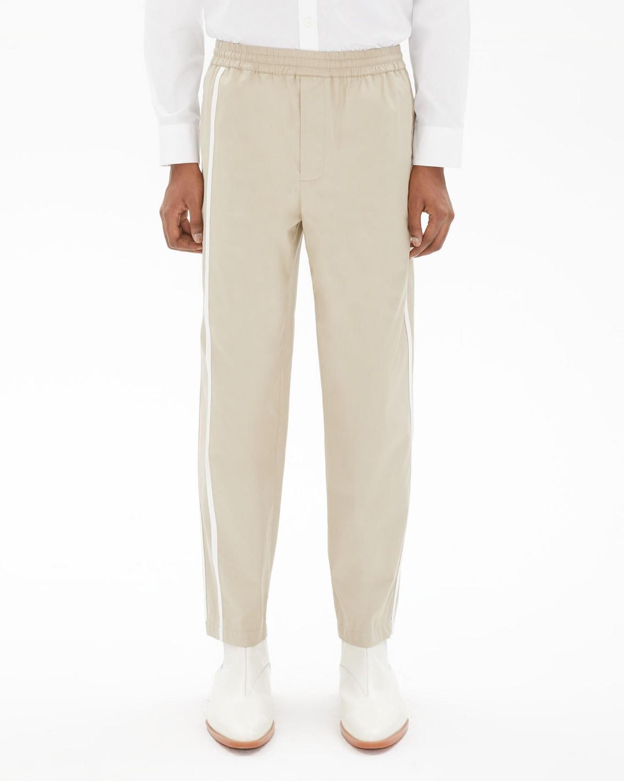 运动条纹长裤