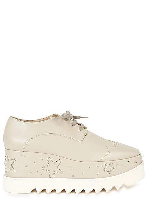 Sneak-Elyse 80 星星厚底鞋