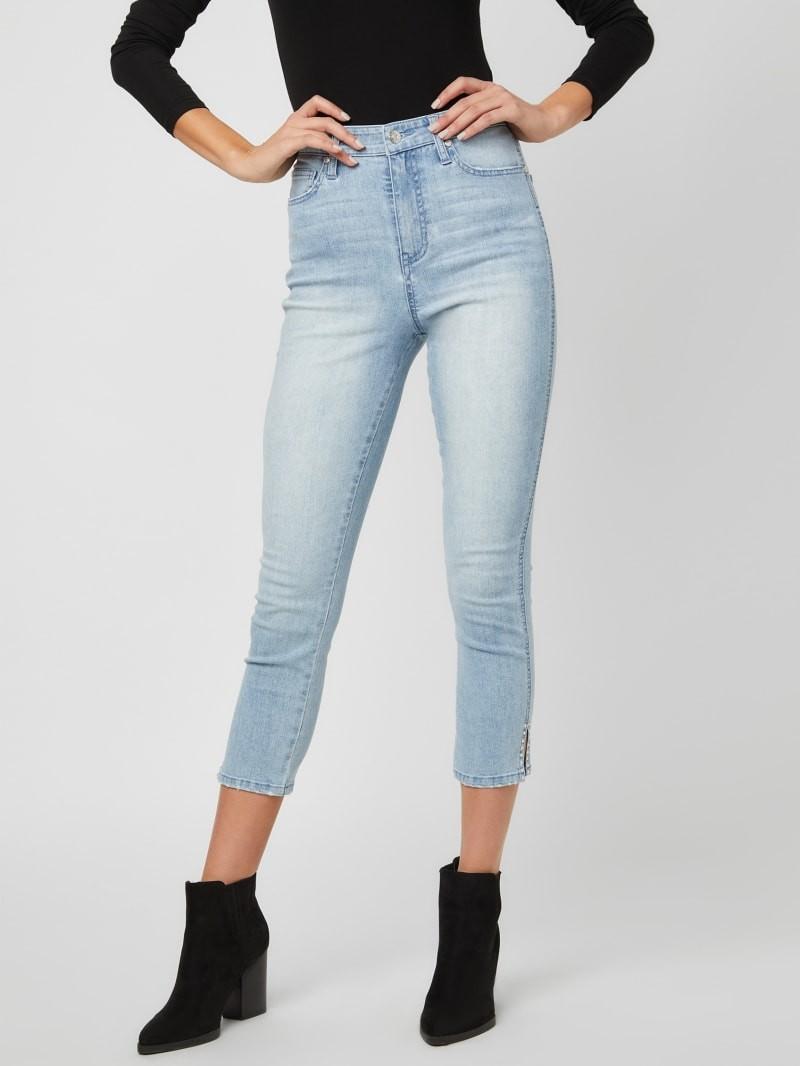 女款牛仔七分裤