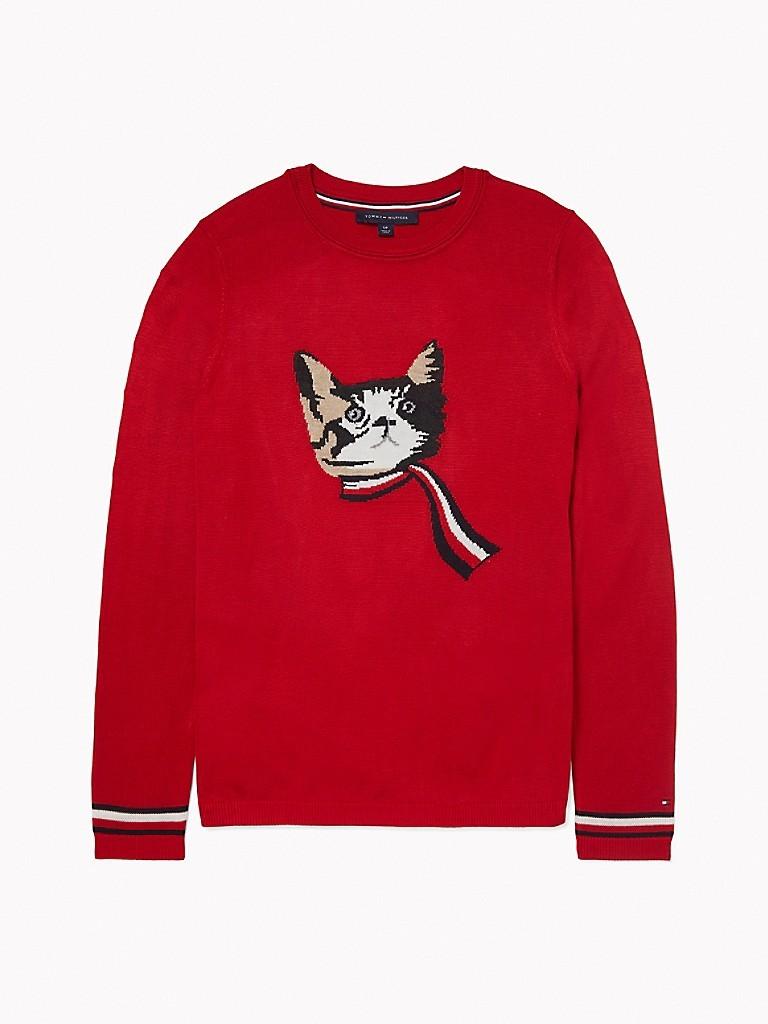 猫咪假日毛衣