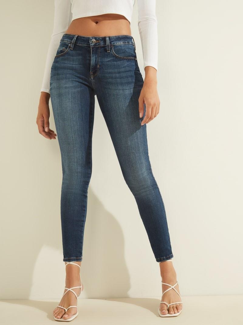 性感曲线中腰牛仔裤