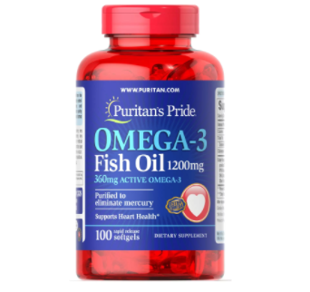 Omega-3 Fish Oil 1200 mg