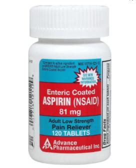 低剂量阿司匹林