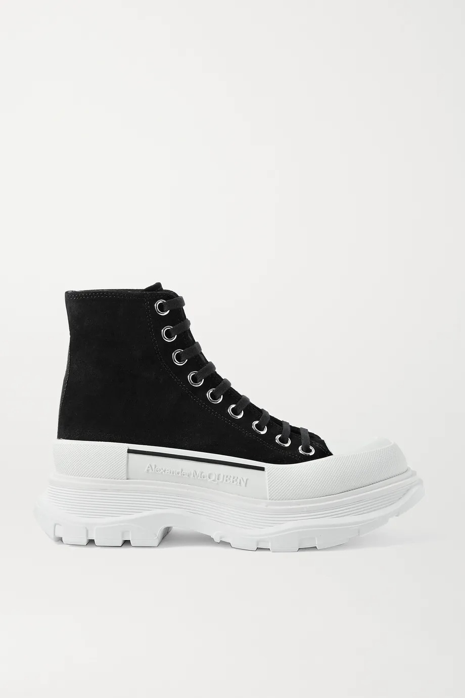 绒面革橡胶超厚底踝靴 多色可选