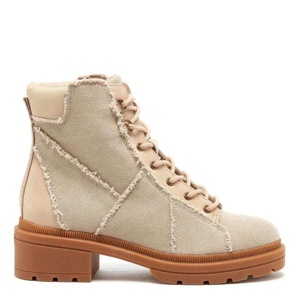 Irys Natural Frayed靴子