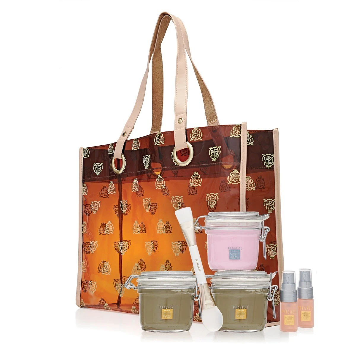 Borghese Mask, Hydration & Logo Tote Bag Set