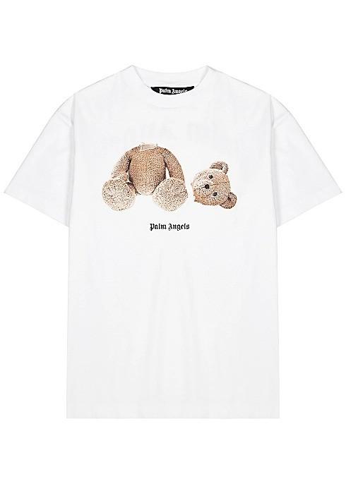 PALM ANGELS 断头小熊T恤