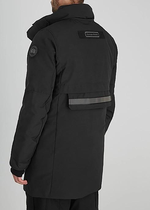 CANADA GOOSE Brockton黑标羽绒服