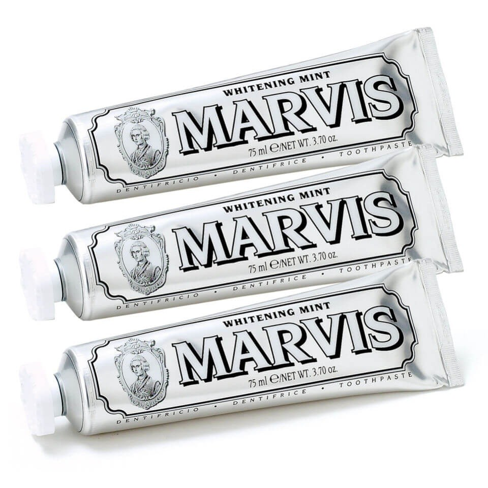 Marvis 美白薄荷牙膏套装