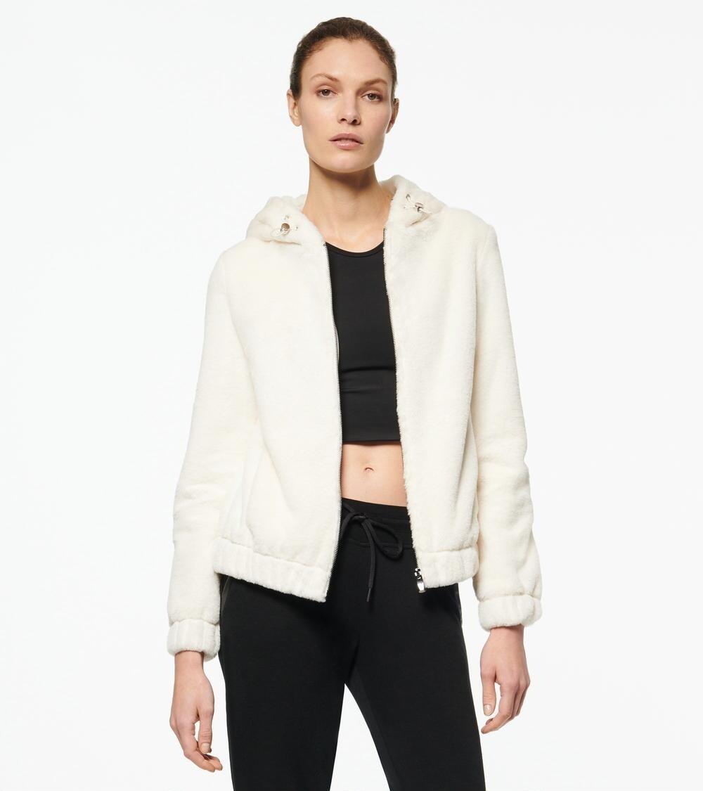 毛茸外套夹克