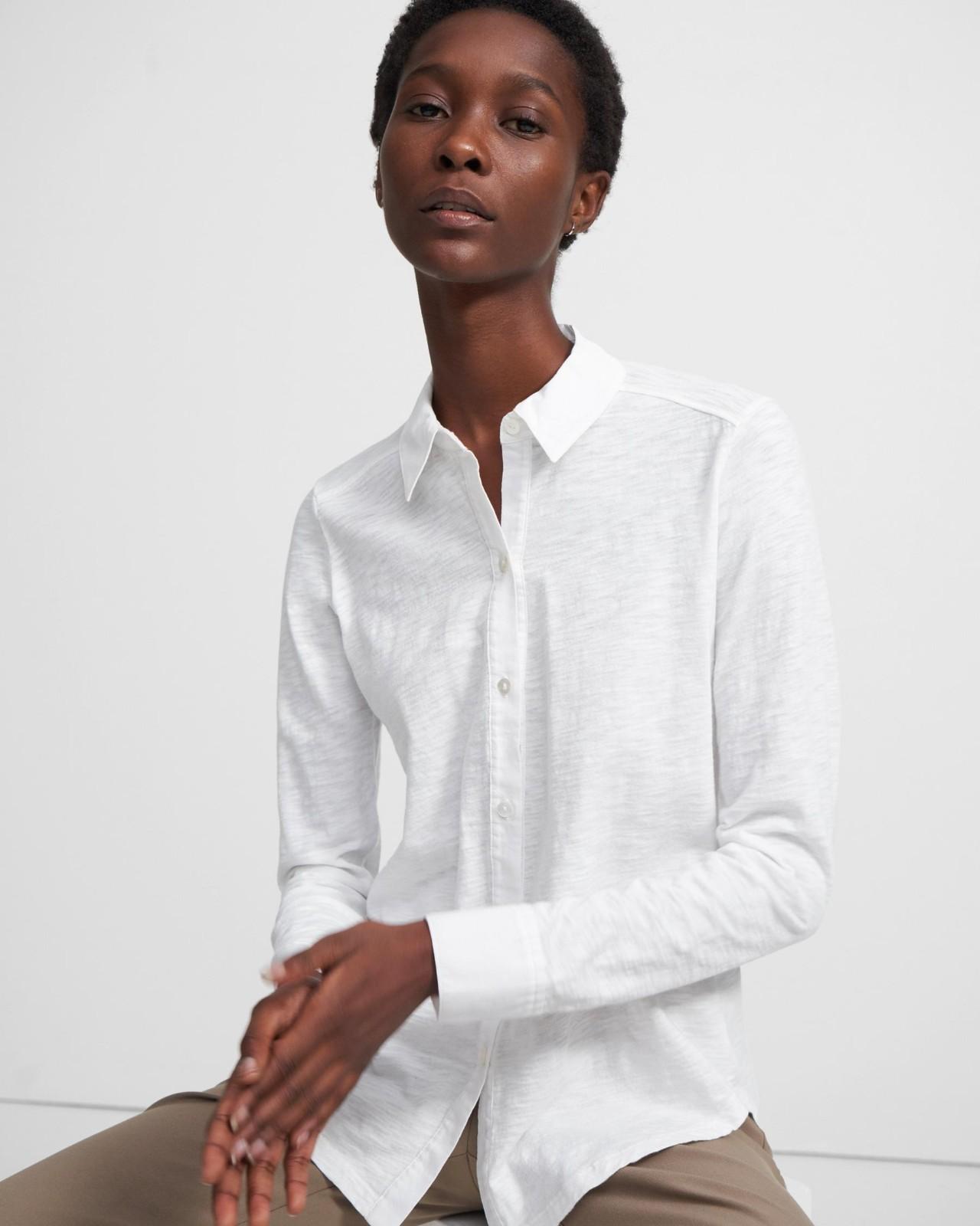 有机棉衬衫