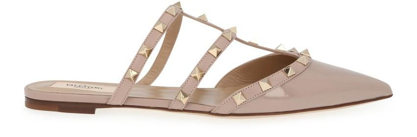 Valentino铆钉穆勒鞋