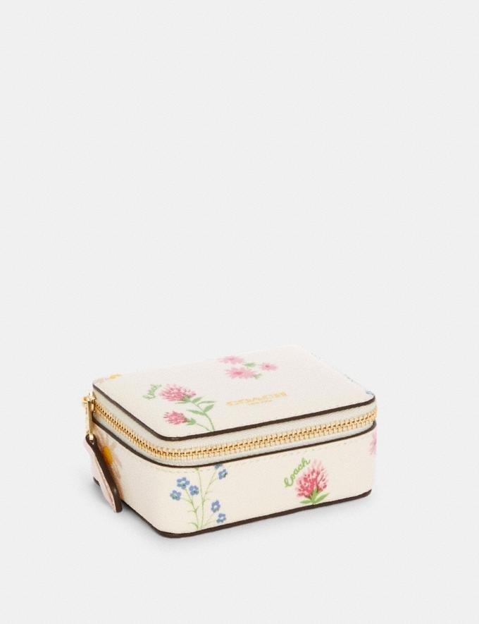 碎花首饰盒