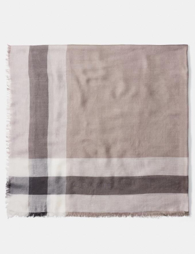 Windowpane 方巾