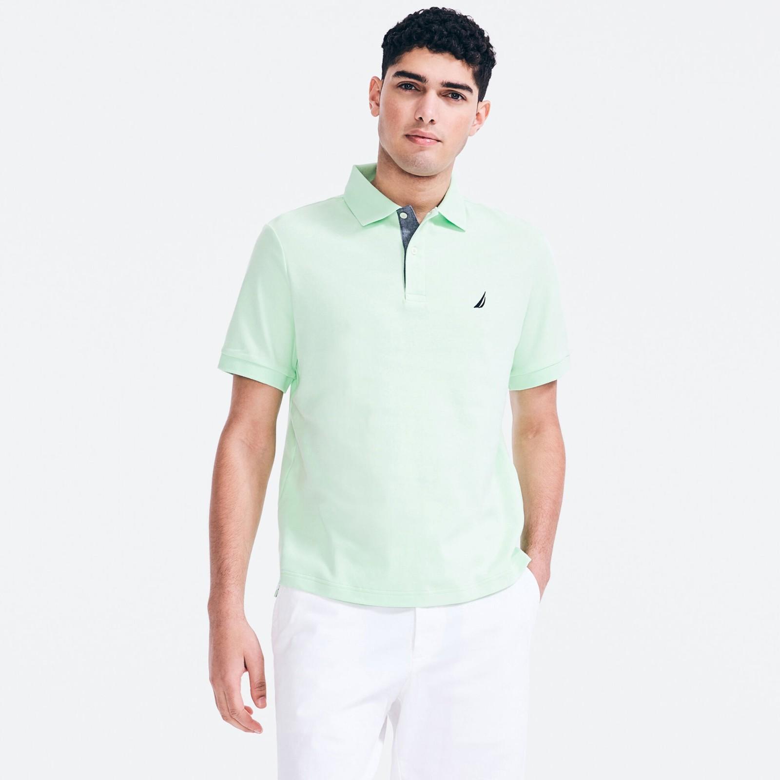 polo衫 薄荷绿