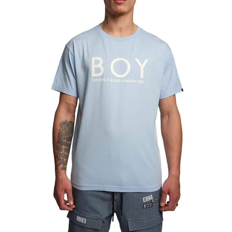 蓝色logoT恤