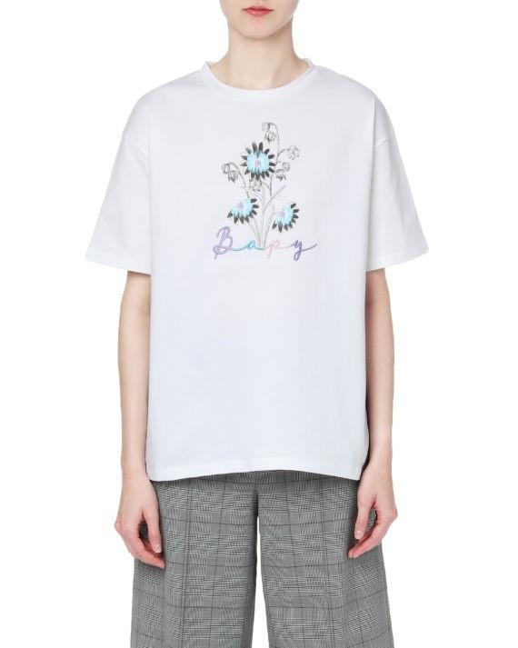 BAPY® 饰 logo 花朵印花 T 恤