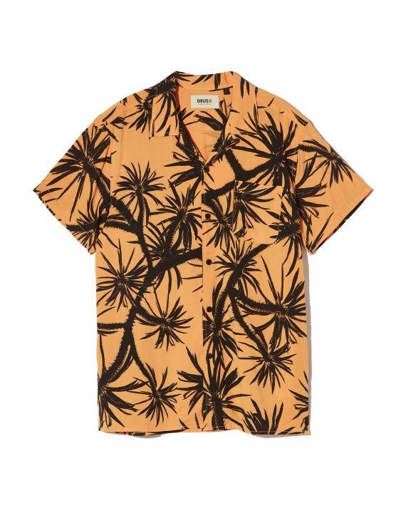 植物印花衬衫