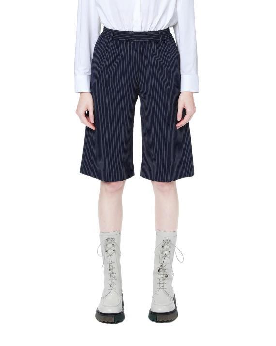 印花百慕大短裤