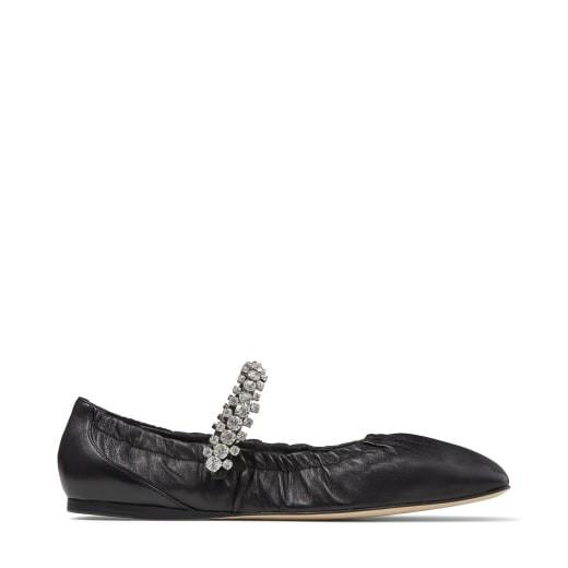水钻带芭蕾舞鞋