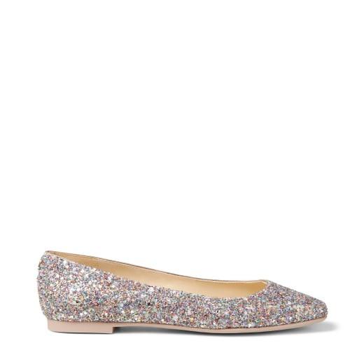 星空平底鞋