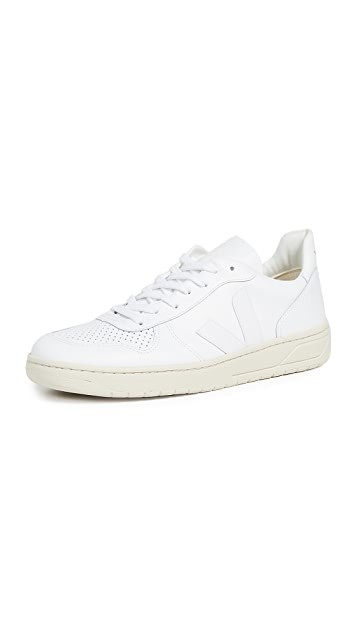 V-10 纯白 运动鞋