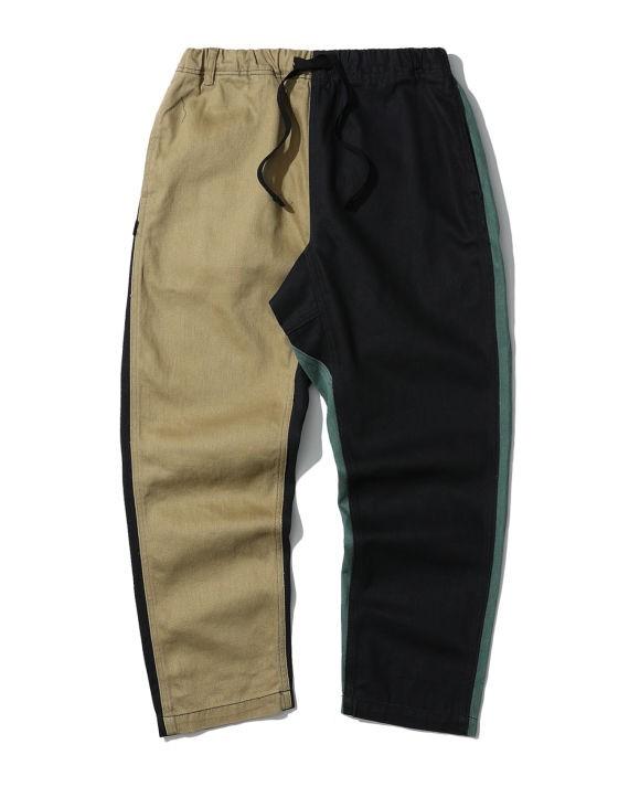 双色休闲裤