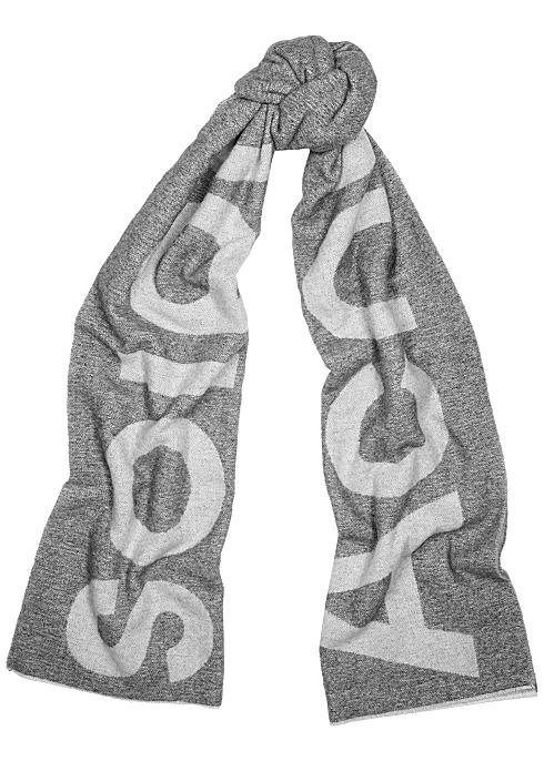 大logo围巾