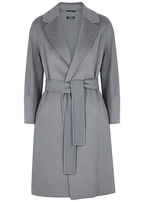 Arona 蓝灰色大衣