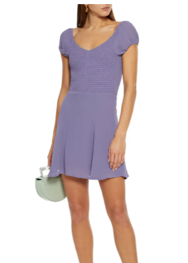 泡泡袖连衣裙
