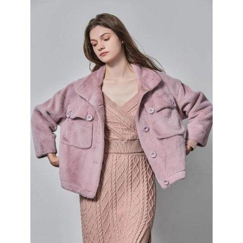 羊毛混纺夹克