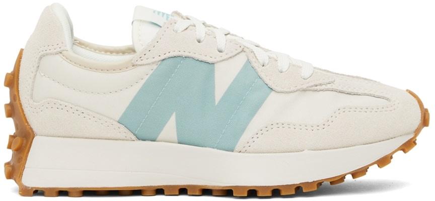 白色 327 V1 运动鞋