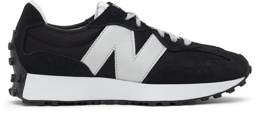 黑色 327 运动鞋