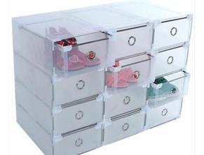 抽屉式透明鞋盒 (库存3份 260金币/份) ... ...