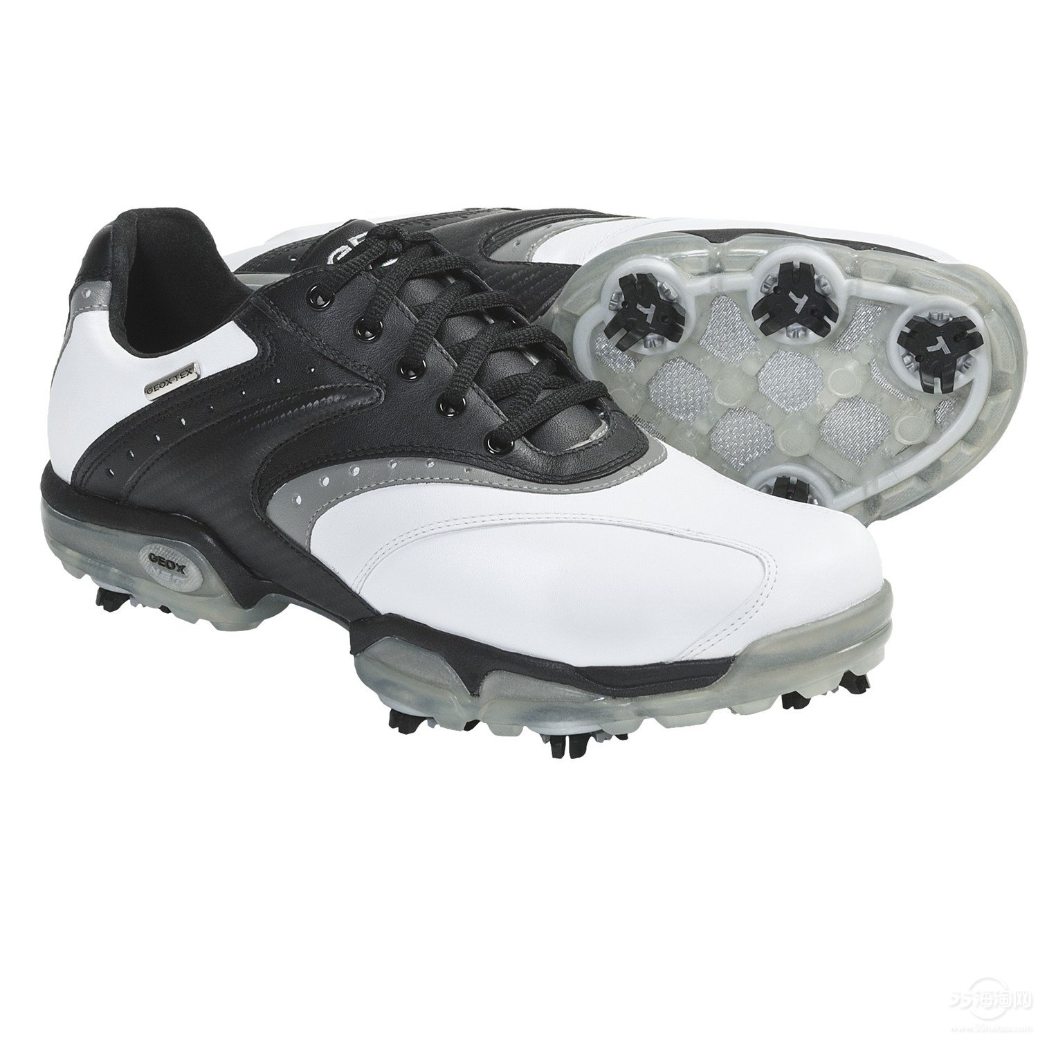 Geox Protech Saddle Golf Shoes - Waterproof (For Men).jpg