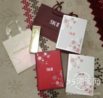sk-II日本专柜限量圣诞终极试用套装日本EMS直邮