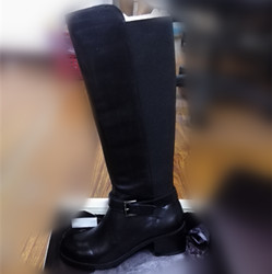 anneklein女士长筒皮靴