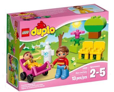 乐高得宝早教妈妈和婴儿积木玩具 ...