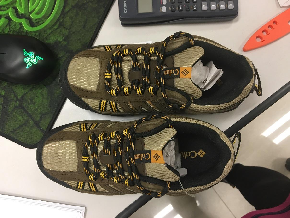 亚瑟士asics运动短裤和哥伦比亚儿童鞋